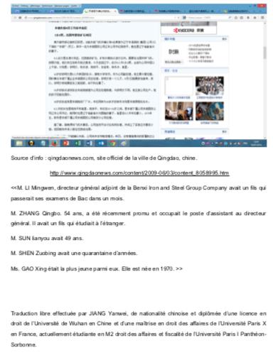 Crash Air France indemnisation chinois (9)