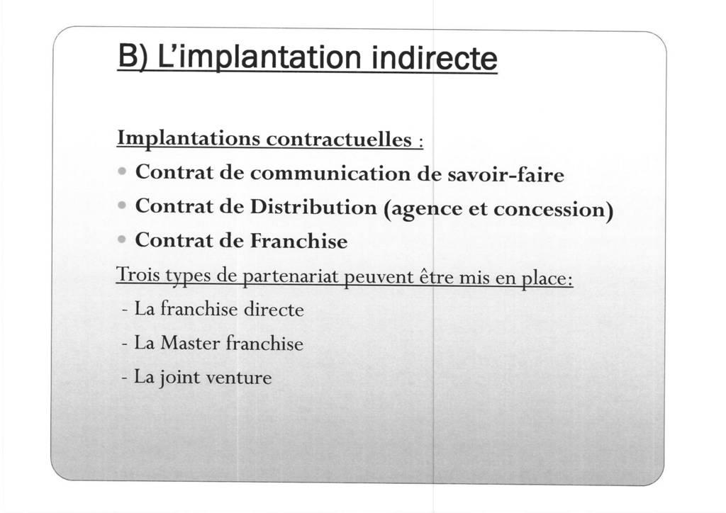 Aspects juridiques de l'implantation d'entreprises françaises à l'étranger : l'exemple des Etats-Unis (12)