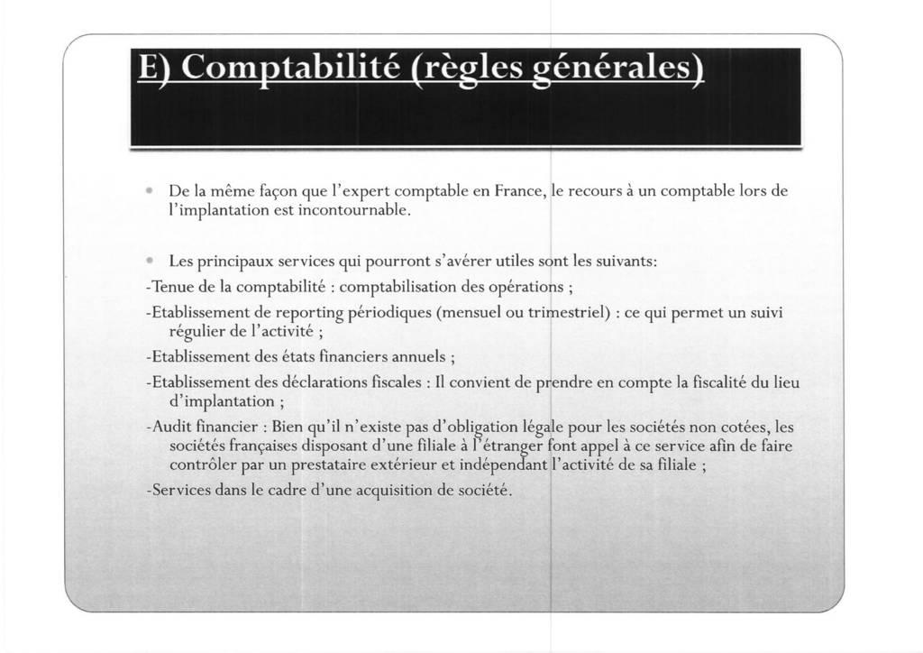 Aspects juridiques de l'implantation d'entreprises françaises à l'étranger : l'exemple des Etats-Unis (19)