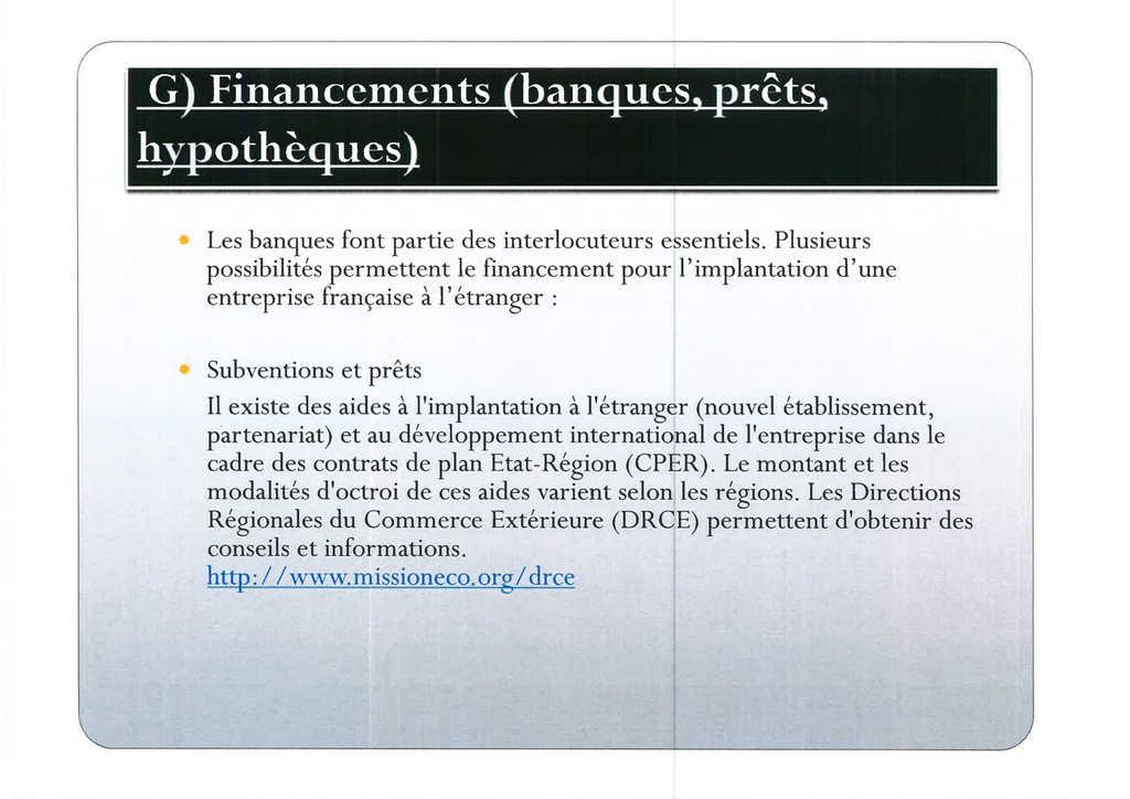 Aspects juridiques de l'implantation d'entreprises françaises à l'étranger : l'exemple des Etats-Unis (21)